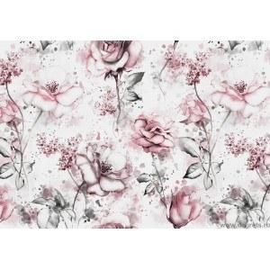 Fotografie tapet Trandafiri bej 3D XL