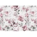 Fotografie tapet Trandafiri bej 3D L