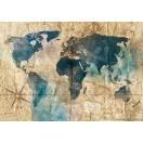 Fotografie tapet Harta lumii 5 3D L