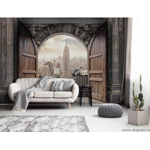 Fotografie tapet Intrare in New York 3D XL