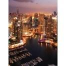 Fotografie tapet Marina in Dubai 2 L 2