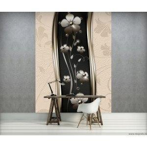 Fotografie tapet Floare abstractie 3D L 2