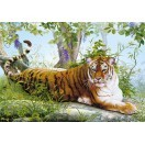 Fotografie tapet Tigru in jungla