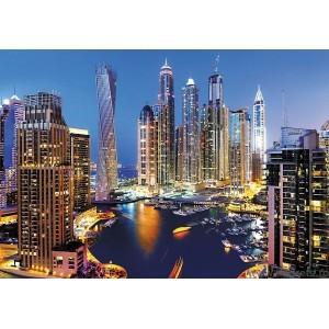 Fotografie tapet Zgarie nori Dubai
