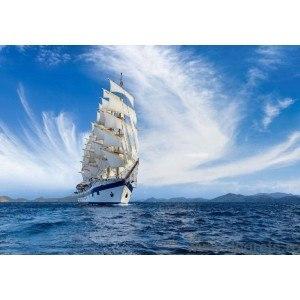 Fotografie tapet Corabie la mare