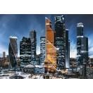 Fotografie tapet Moscova City