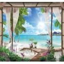 Fotografie tapet Paradis tropic
