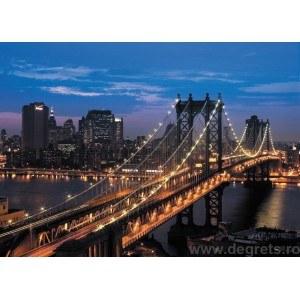 Fotografie tapet podul Manhattan