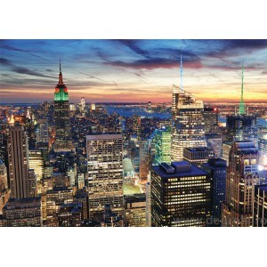 Fotografie tapet premium New York City cer 2