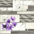 Tapet PVC Magnolie violet