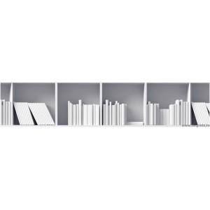 Panou decorativ librarie 3D
