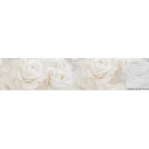 Panou decorativ Trandafiri Alb 1