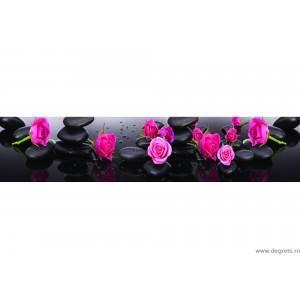 Panou decorativ Lila Trandafir 1