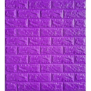 Tapet 3D Autocolant violet