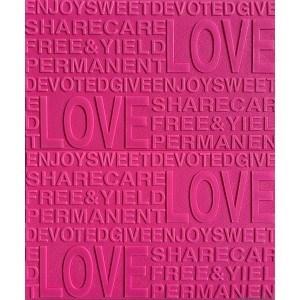 Tapet 3D Autocolant roz Dragoste