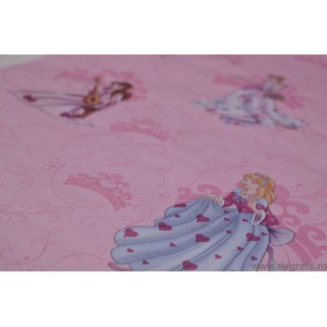 Tapet hartie Printese roz