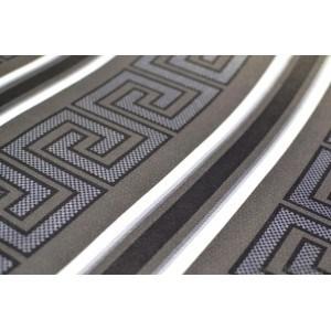 Tapet hartie Versace negru-argintiu
