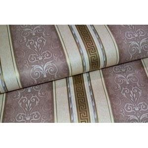 Tapet hârtie Versace Baroque maro