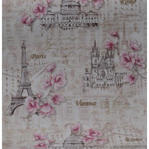 Tapet duplex Parisului bej
