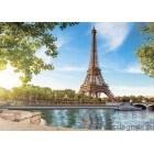 Fotografie tapet Pier in Paris
