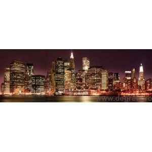 Fotografie tapet luminile orasului