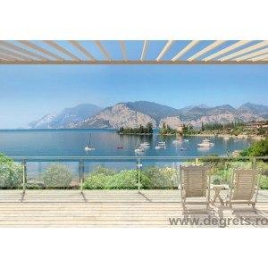 Fotografie tapet lacul Garda