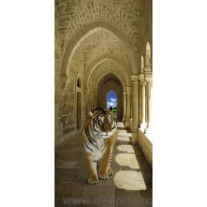 Fotografie tapet tigru